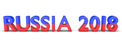 3d framförde Ryssland 2018 Arkivfoton