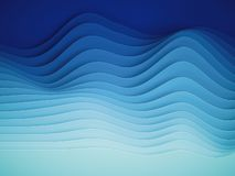 3d framf?r, abstrakt papper formar bakgrund, skivade lager, v?gor, kullar, lutningblandningen, utj?mnare royaltyfri illustrationer