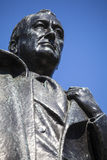 d Franklin Roosevelt 罗斯福雕象在伦敦 免版税库存照片