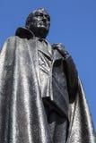 d Franklin Roosevelt 罗斯福雕象在伦敦 库存照片