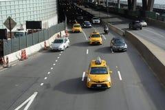d Franklin Roosevelt 罗斯福East河驱动在曼哈顿 免版税图库摄影