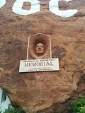 D Franklin Roosevelt Roosevelt skulptur på ` för hål N vaggaberghemmet royaltyfri bild