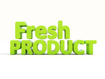 3d Fresh Product stock images
