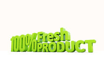 3d Fresh Product Royalty Free Stock Photography