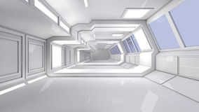 3d futuristic architecture Stock Photography