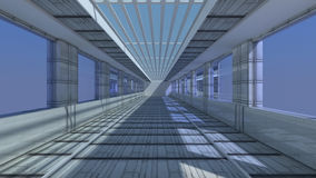 3d futuristic architecture Stock Images