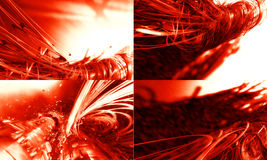 3D futuristic background. 3d Futuristic Abstract Technology Background Stock Image