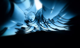 3D futuristic background. 3d Futuristic Abstract Technology Background Stock Images