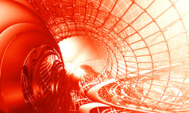 3D futuristic background Royalty Free Stock Photo