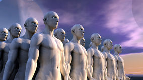 Humanoid figures Stock Photos