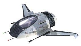 3D futuristic drone Stock Image