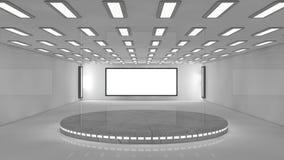 3d futurystyczna architektura Obraz Stock