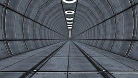 3d futurystyczna architektura Obrazy Royalty Free