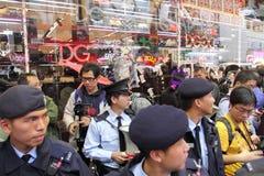 D&G照片禁令在香港激励拒付 库存图片