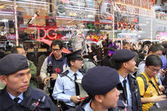 D&G Fotografii Zakazu Iskry Protestują w Hong Kong Obrazy Stock