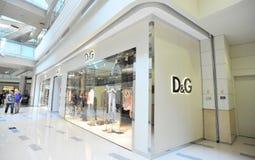 D&G shoppar Arkivfoto