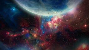 3D galáxia 02 ilustração stock