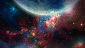 3D galassia 02 illustrazione di stock
