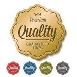 D'or garanti par qualité de la meilleure qualité Photos stock