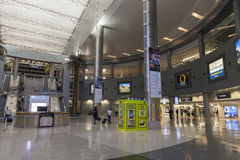 The D Gates Area of McCarran Airport in Las Vegas, NV on July 01 Royalty Free Stock Photos