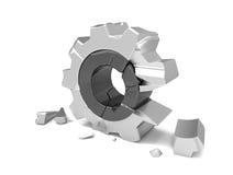 Broken Gear Wheel Stock Illustrations – 174 Broken Gear ...