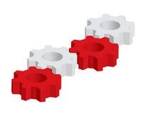 3D gears Stock Photos
