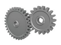 3d gears Royalty Free Stock Photos