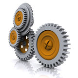 3d gears Royalty Free Stock Photo