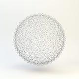 3D Gebied Globale digitale verbindingen Het concept van de technologie Royalty-vrije Stock Foto