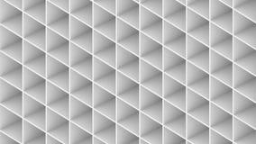 3D geef de abstracte die bouw terug op witte achtergrond wordt geïsoleerd vector illustratie