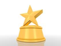 De Winnaar van de ster stock illustratie