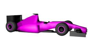 3D geef raceauto terug Royalty-vrije Stock Foto's