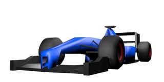 3D geef raceauto terug Stock Fotografie