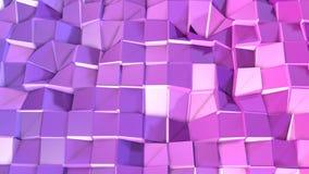 3d geef van abstracte geometrische achtergrond met moderne gradiëntkleuren in lage polystijl terug 3d oppervlakte met aardig vioo royalty-vrije illustratie
