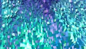 3d geef van abstracte geometrische achtergrond met moderne gradiëntkleuren in lage polystijl terug 3d oppervlakte met aardige gra vector illustratie