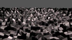 3d geef van abstracte geometrische achtergrond met moderne gradiëntkleuren in lage polystijl terug 3d zwarte oppervlakte 13 vector illustratie