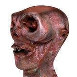3d geef van zombie terug Royalty-vrije Stock Fotografie