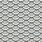 3d gekleurde schalen naadloze textuur Royalty-vrije Stock Afbeeldingen