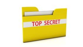 3d omslag van het Dossier Royalty-vrije Stock Afbeeldingen
