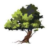 2D gemowy drzewo Zdjęcia Royalty Free