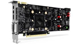 3d generic detailed  graphic video card Royalty Free Stock Photo