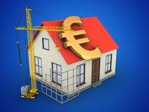 3d generic house Stock Photos