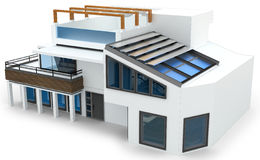 3d generic house Stock Image