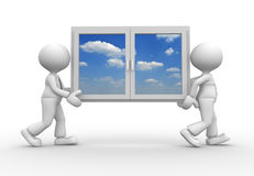 Ventana libre illustration