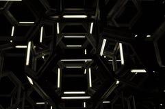 3D geomatric vormen Royalty-vrije Stock Foto