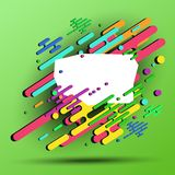 3d geometric abstract background for your banner - vector eps10.  stock illustration