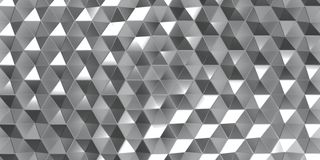 3D Geometric Abstract Hexagonal Wallpaper Background. Render of 3D Geometric Abstract Hexagonal Wallpaper Background royalty free illustration