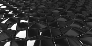 3D Geometric Abstract Hexagonal Wallpaper Background. Render of 3D Geometric Abstract Hexagonal Wallpaper Background Vector Illustration
