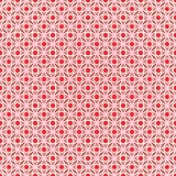 3d geometric mosaic, persian motif. Mosque decoration element. I. Slamic geometric pattern. Elegant white oriental ornament on red background, traditional arabic vector illustration