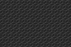 3d geometric pattern. Royalty Free Stock Image